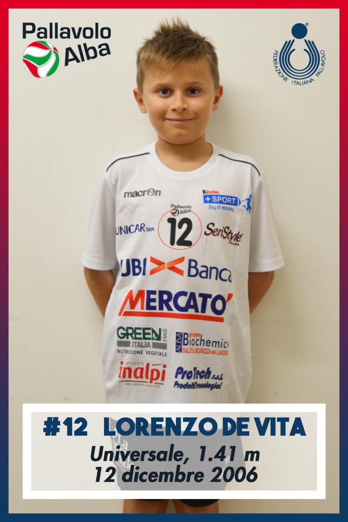 U13-11_12_Lorenzo De Vita